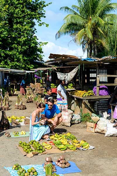 produce from local market in fiji