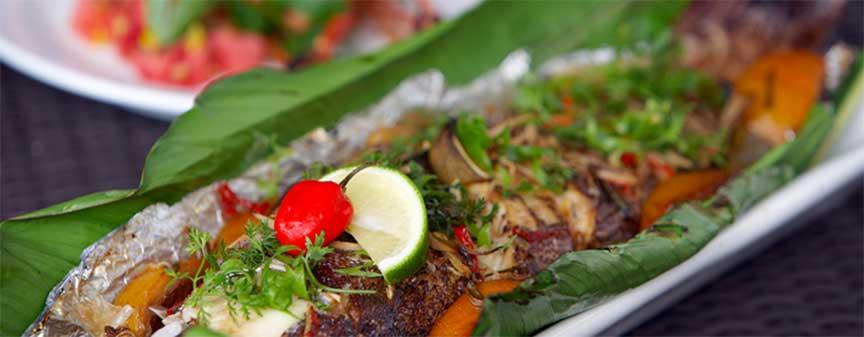 exotic fijian dish